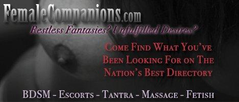 FemaleCompanions.Com - The Female Escort Directory!